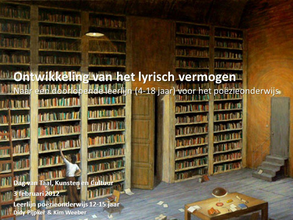 UOCG / Universitair Onderwijscentrum Groningen Paneldiscussie niveau 1 Zeer beperkte lyrische competentie (ligt onder het niveau van wat je in het begin van H/V klas 1 zou mogen verwachten – niveau vmbo-tl of lager).