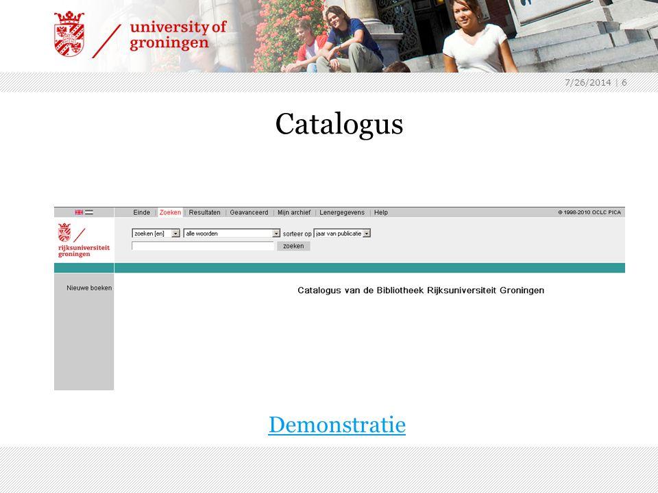 7/26/2014 | 7 Picarta:- collectie 400 Nederlandse bibliotheken - database met tijdschriftartikelen