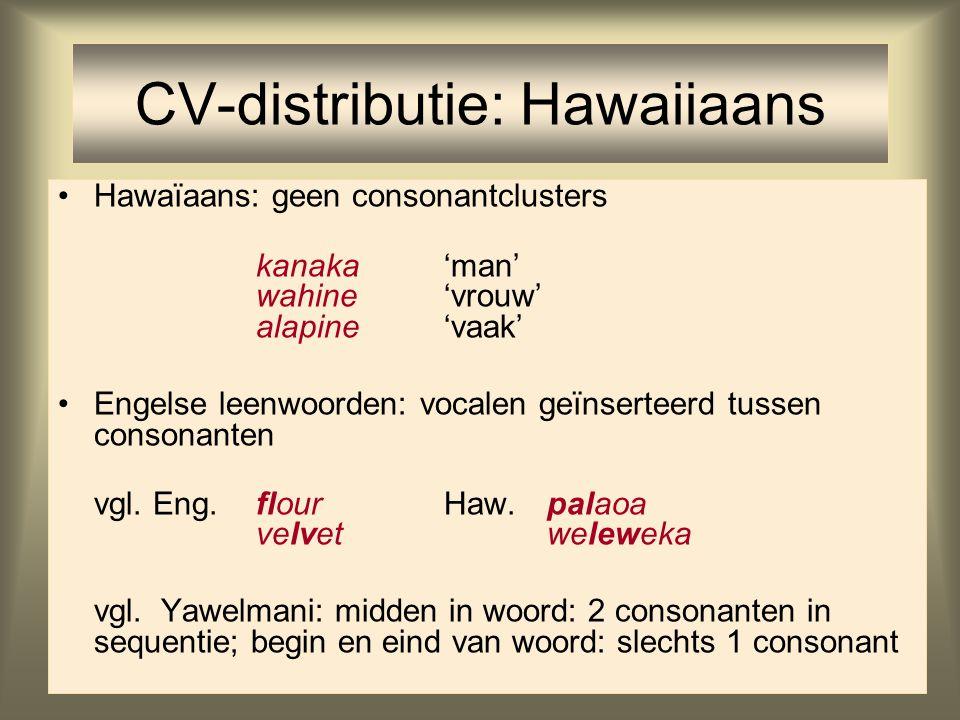 Vergelijk Hawaiiaans