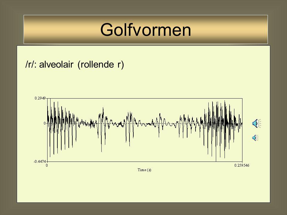34 /r/: uvulair Golfvormen
