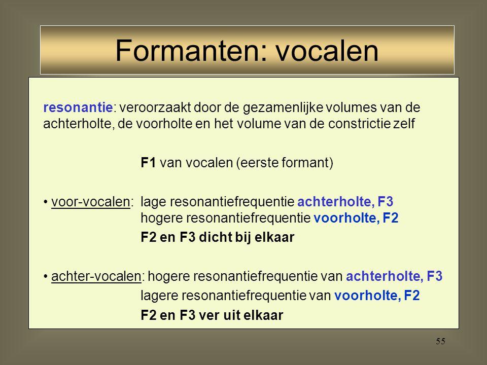 54 Vocaal - Fricatief - Vocaal