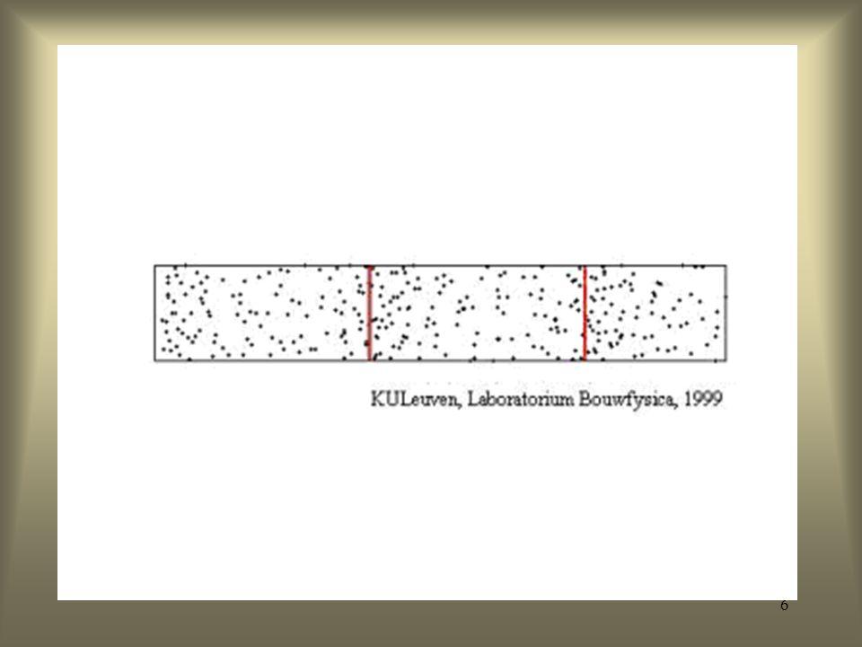 56 F1: - 300 – 1000 Hz - hoe dichter de tong tegen het palatum, des te lager de F1 dus: [i] = lage F1, [a] = hoge F1 F2: - 850 – 2500 Hz F3: - 2000 – 3150 Hz Formanten: vocalen