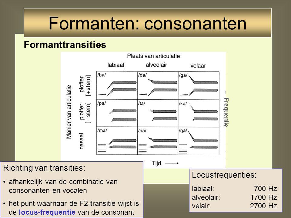 70 Articulatie Consonanten