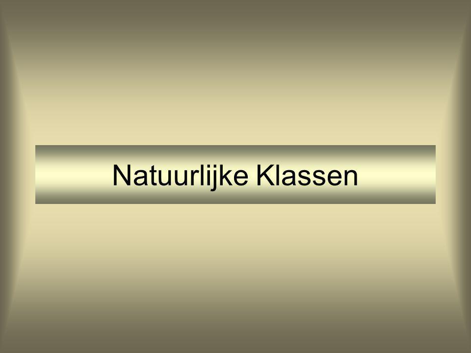 Natuurlijke Klassen