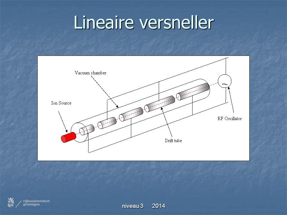niveau 3 2014 Lineaire versneller