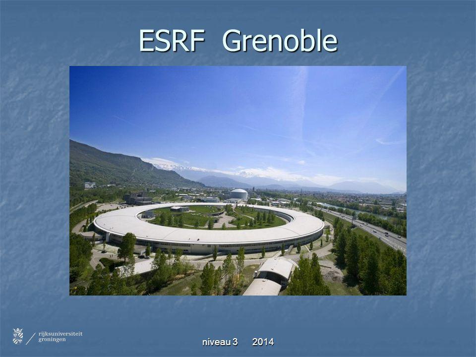 niveau 3 2014 ESRF Grenoble