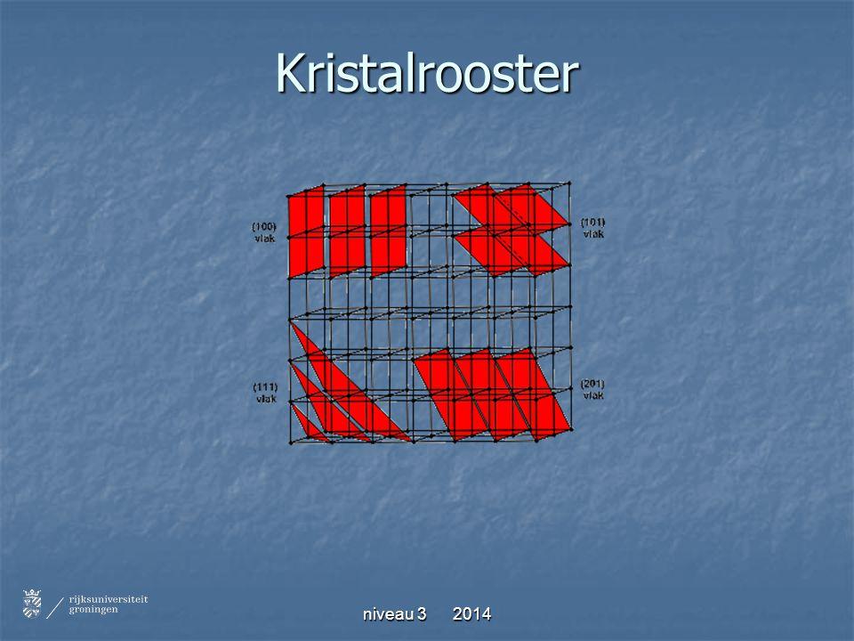 niveau 3 2014 Kristalrooster