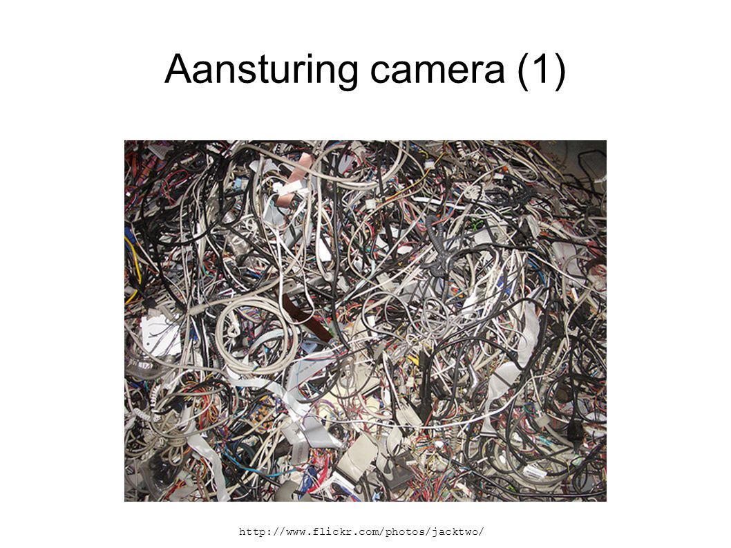 Aansturing camera (2)