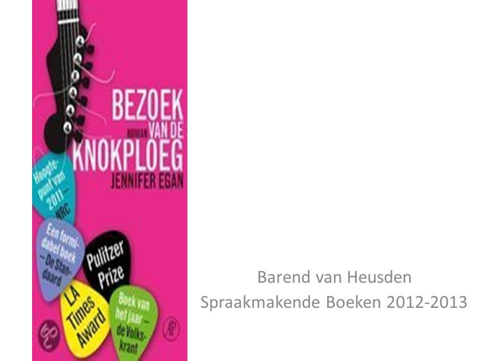 Barend van Heusden Spraakmakende Boeken 2012-2013