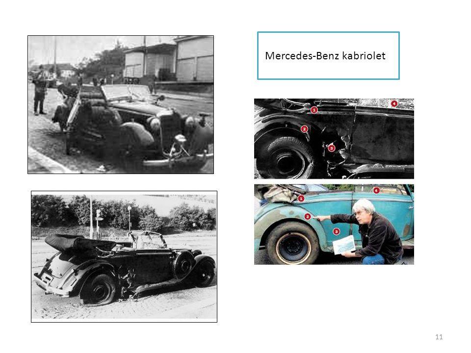 11 Mercedes-Benz kabriolet