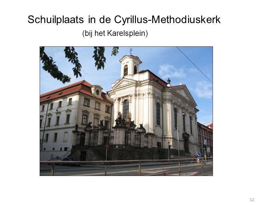 12 Schuilplaats in de Cyrillus-Methodiuskerk (bij het Karelsplein)