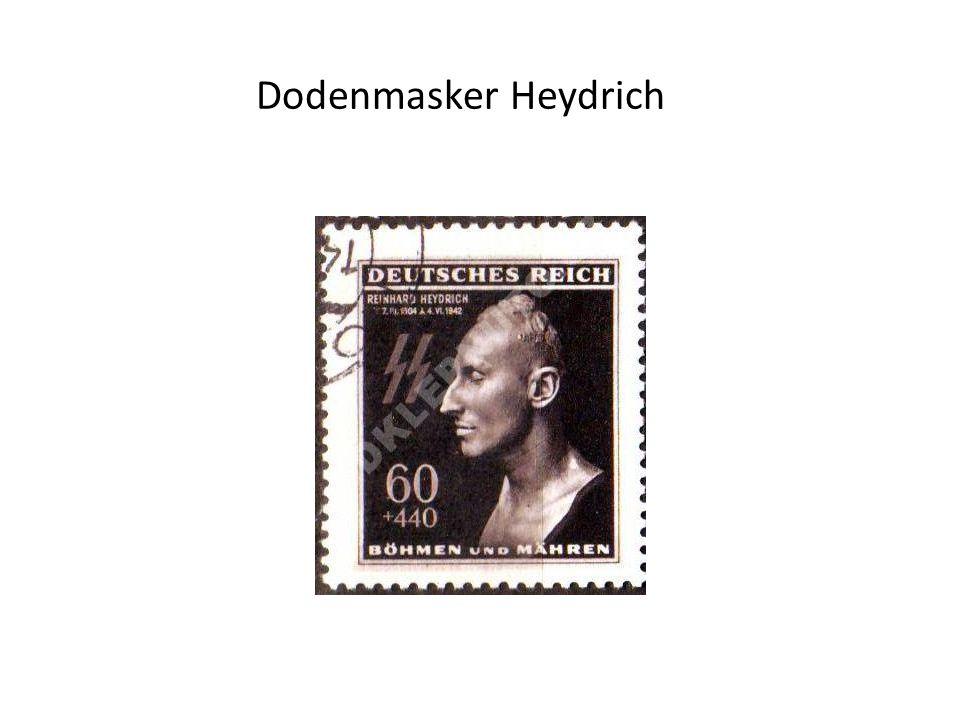 Dodenmasker Heydrich