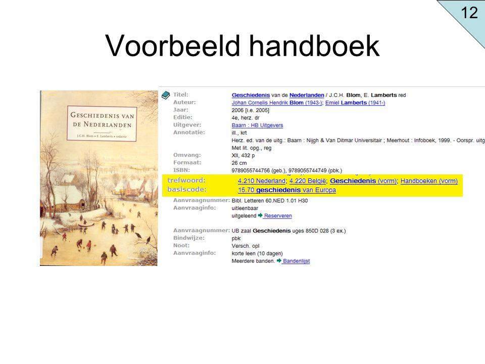 Voorbeeld handboek 12