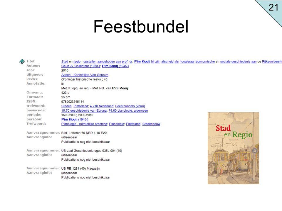 Feestbundel 21