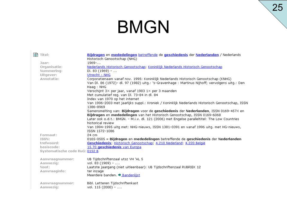 BMGN 25