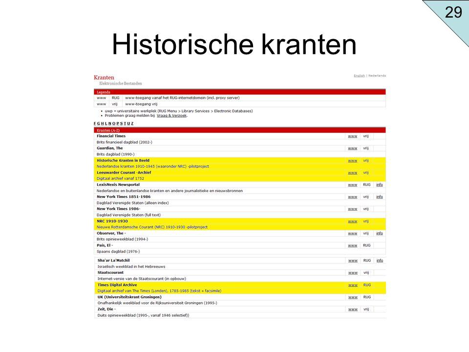 Historische kranten 29
