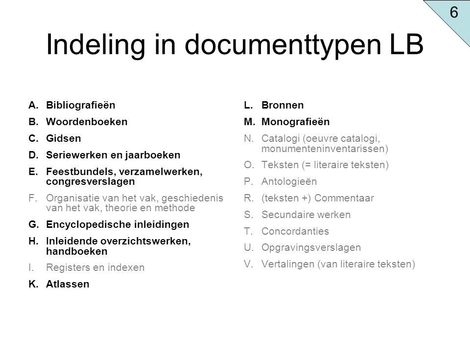 Voorbeeld vaktijdschriften Tijdschrift voor geschiedenis Bijdragen en mededelingen betreffende de geschiedenis der Nederlanden The American historical review 24