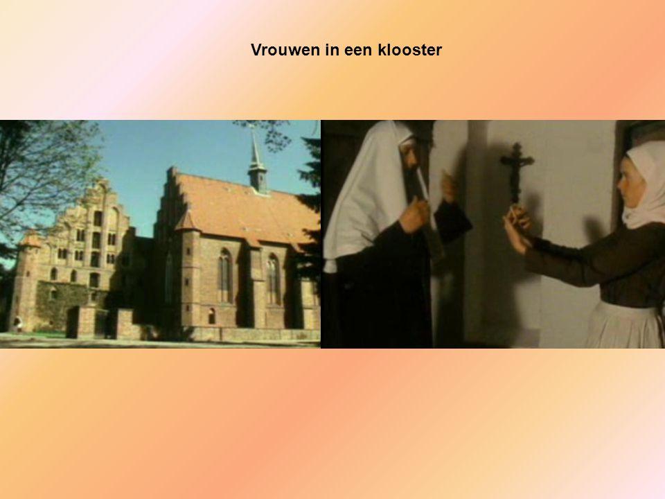 Vrouwen in een klooster