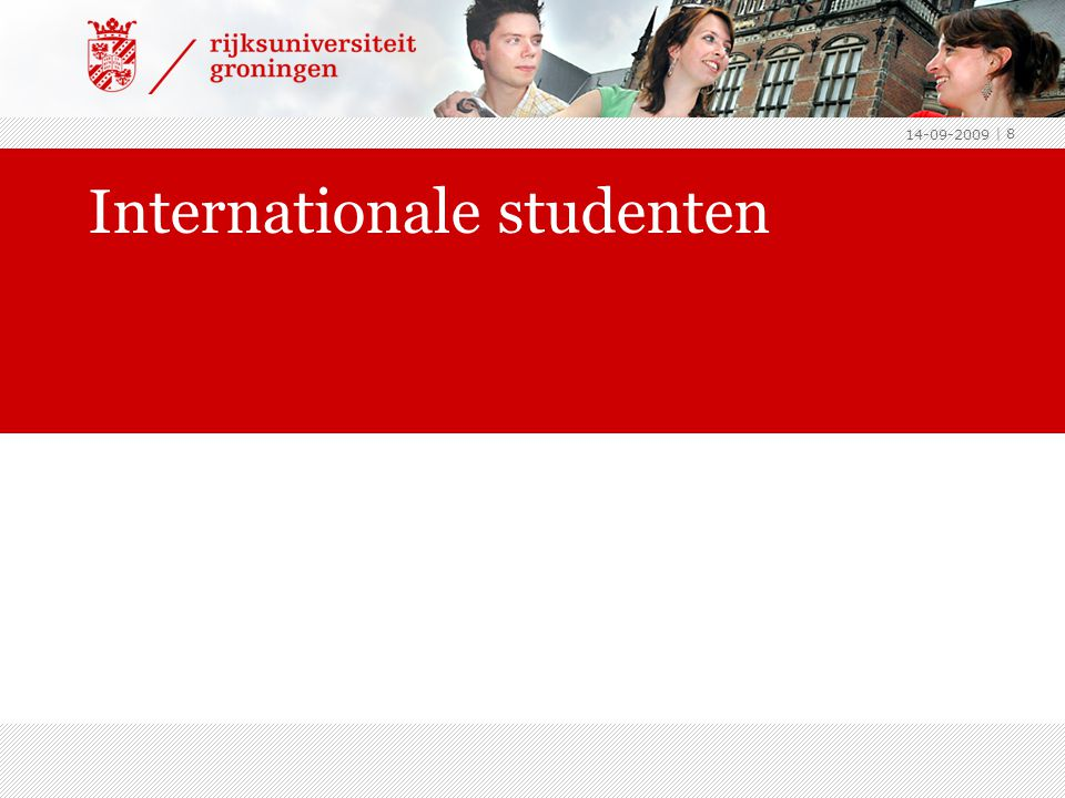 Internationale studenten 14-09-2009 | 8