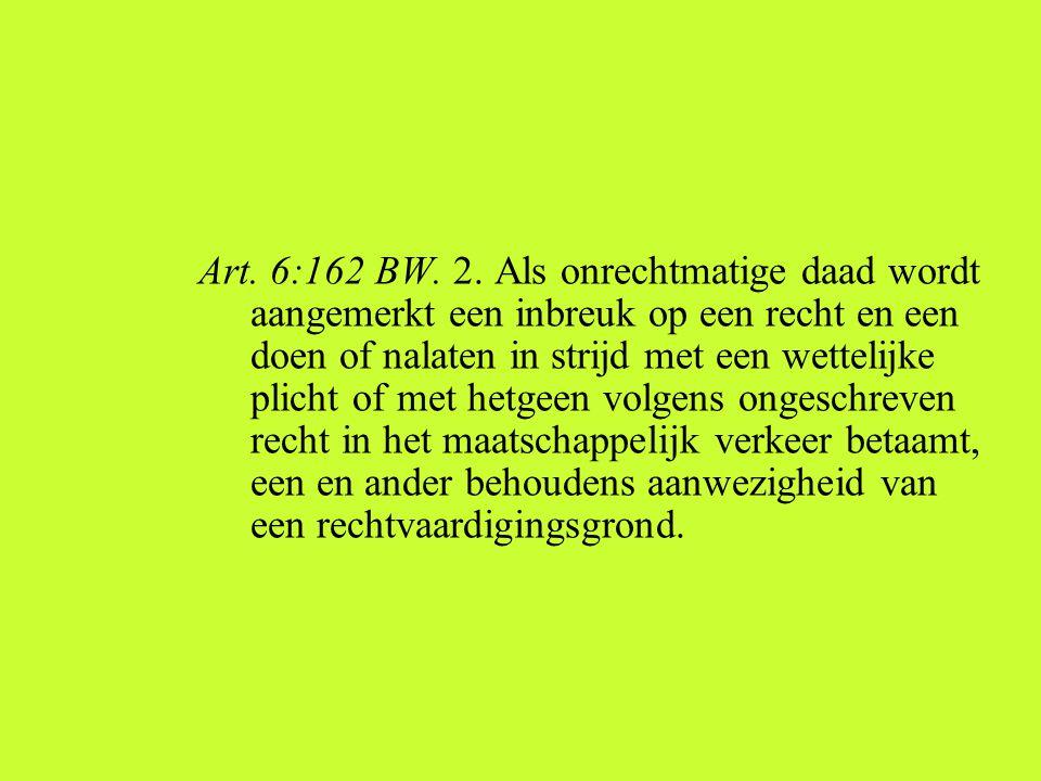 Art.6:162 BW. 2.