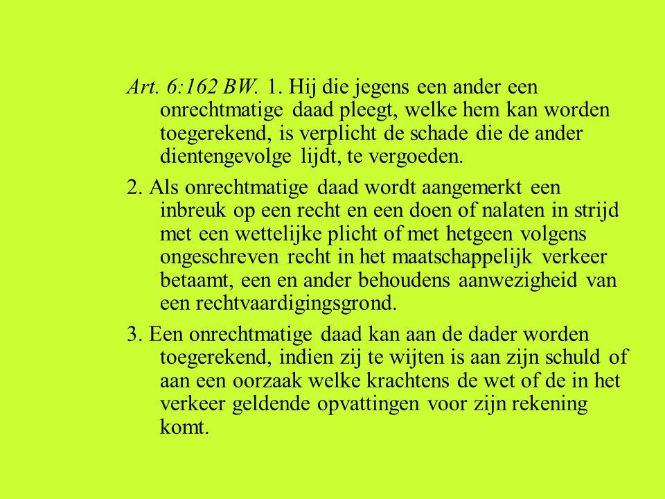 Art.6:162 BW. 1.