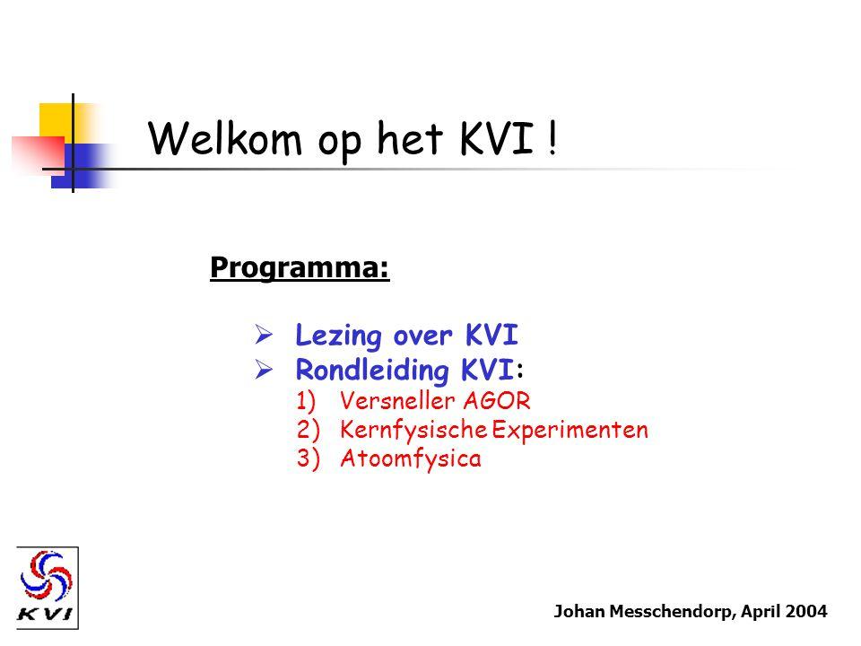 Welkom op het KVI .