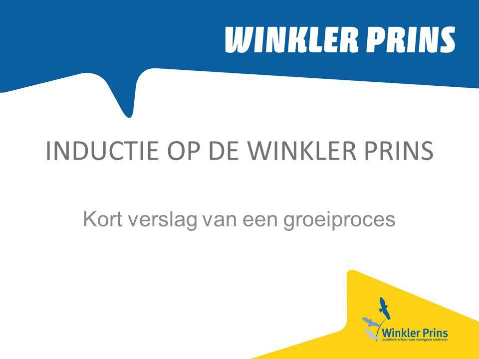 INDUCTIE OP DE WINKLER PRINS Kort verslag van een groeiproces