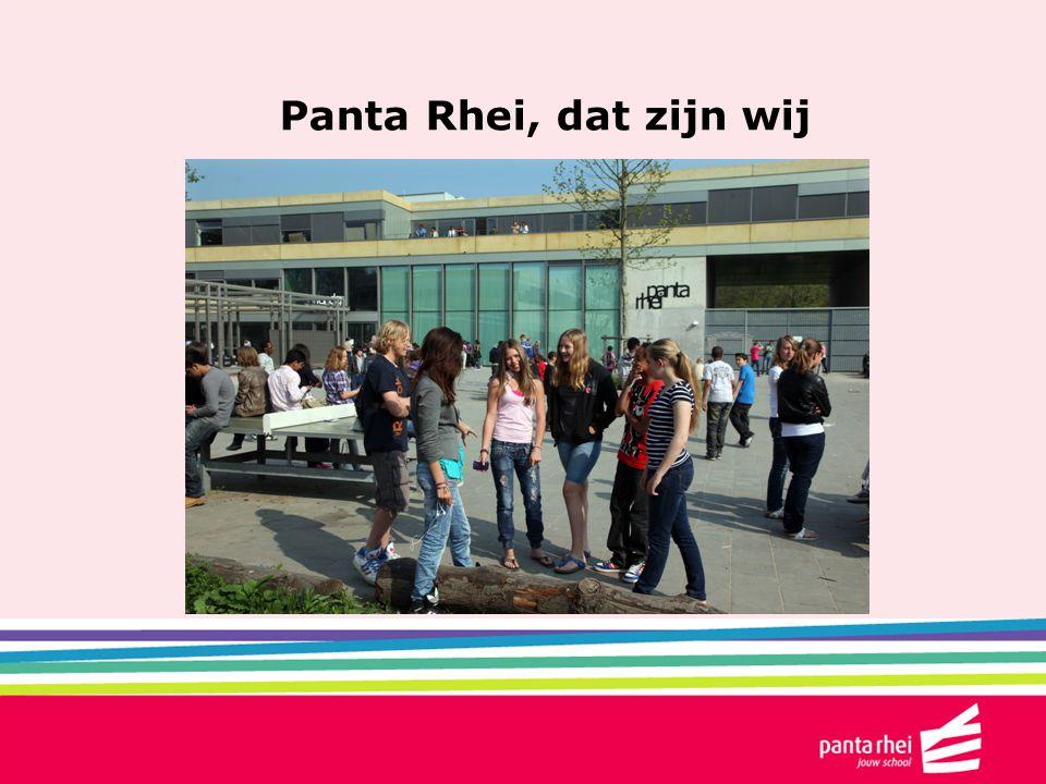 Panta Rhei, dat zijn wij