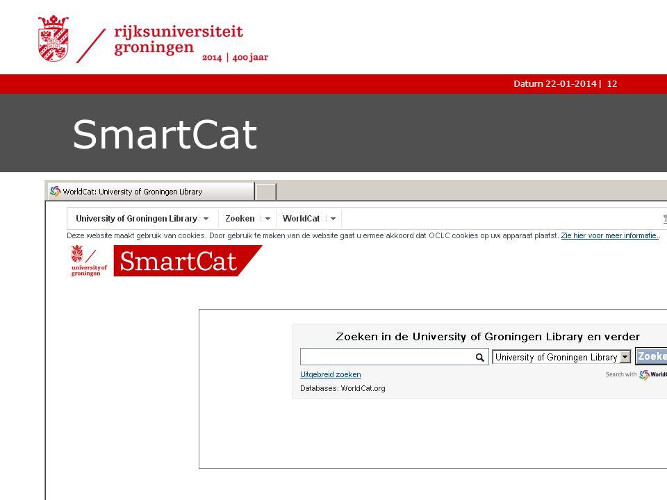 |Datum 22-01-2014 SmartCat 12
