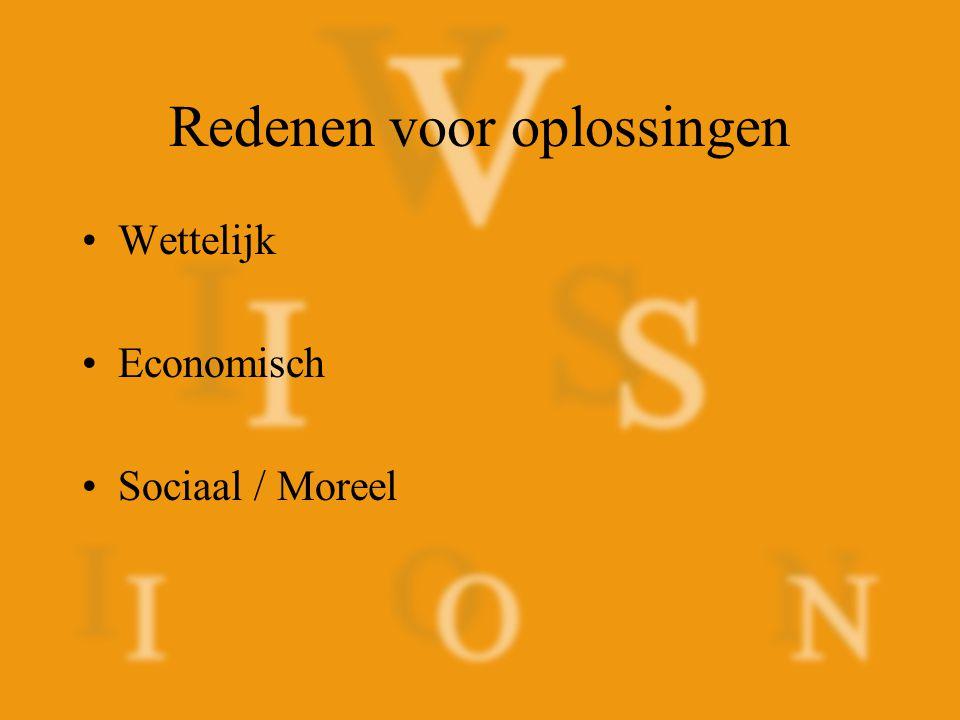 Wettelijke redenen Amerika: –Section 508 –Americans with Disabilities (ADA) Nederland –Wet Voorzieningen Gehandicapten (WVG) –Reintegratie Arbeidsgehandicapten (Rea)