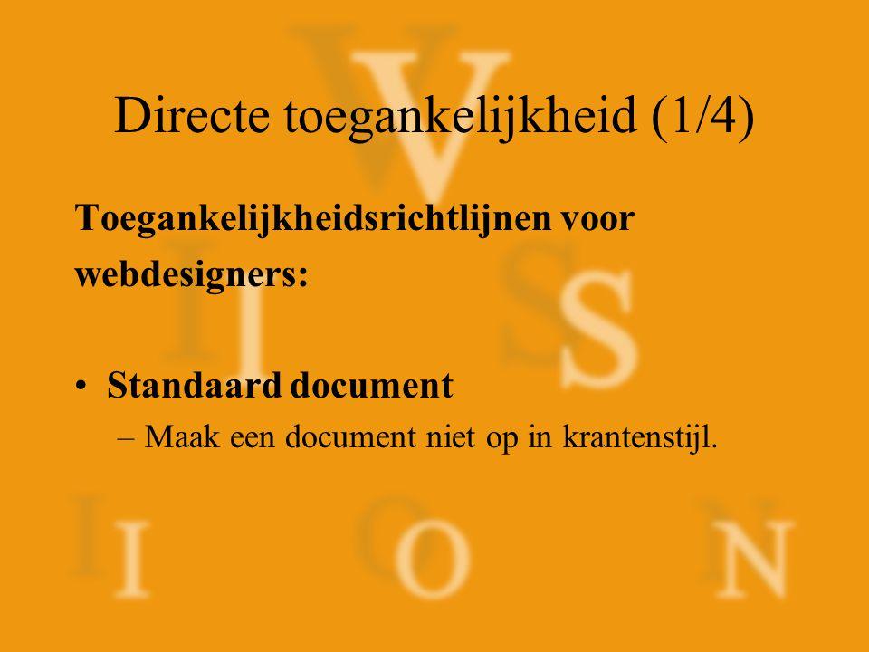 Stijl en structuur –Onderlijn geen tekst.