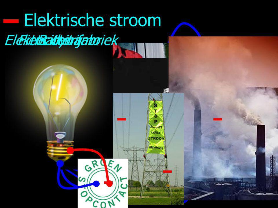 10 Elektrische stroom BatterijFiets dynamoElektriciteit fabriek