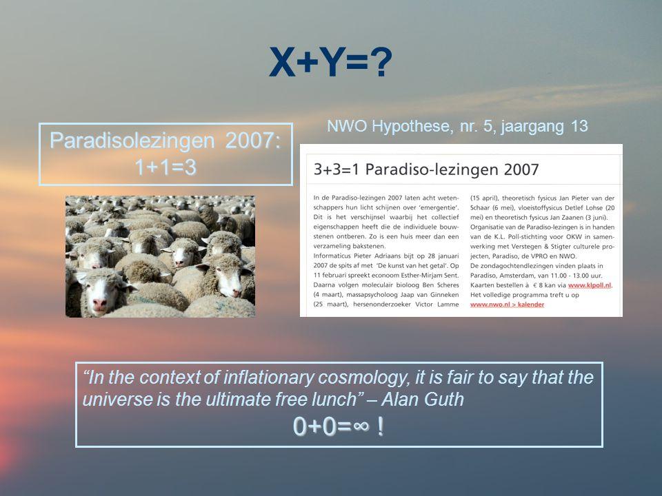 X+Y=.
