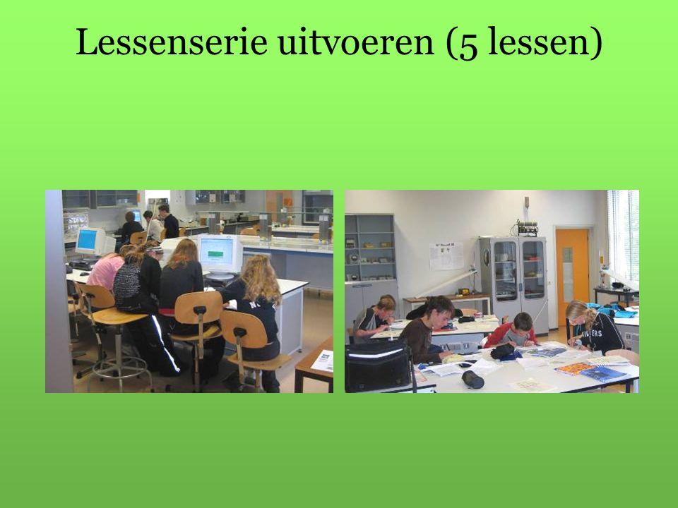 Lessenserie uitvoeren (5 lessen)