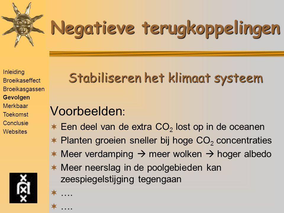 Wat doet Nederland De Volkskrant De Volkskrant 23/10/2001 CO2-eis gehaald Via import stroom Inleiding Broeikaseffect Broeikasgassen Gevolgen Merkbaar Toekomst - Scenario's - Modellen - Uitkomsten Conclusie Websites