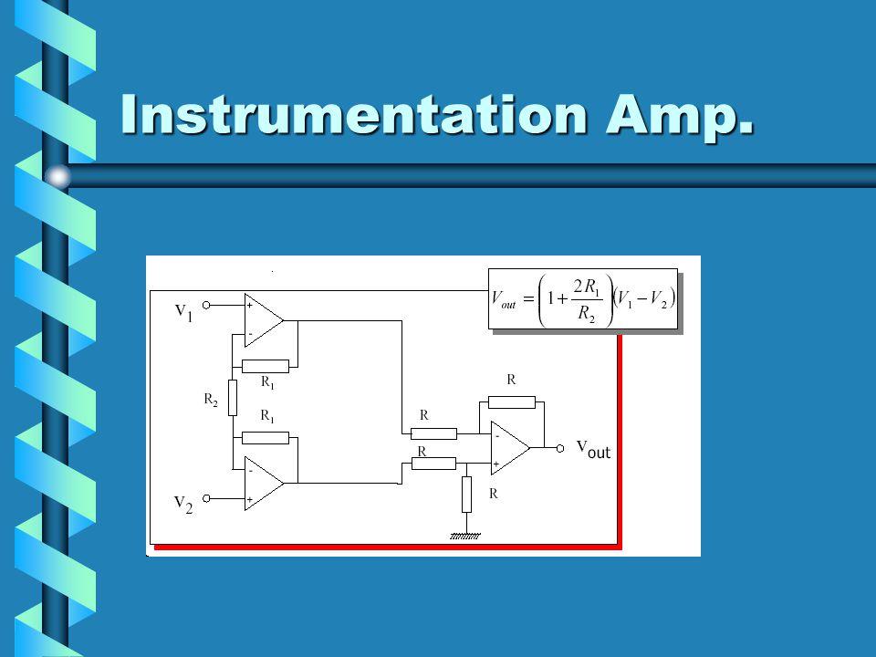 Instrumentation Amp.