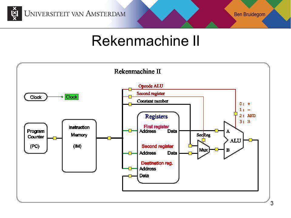 3Ben Bruidegom 3 Rekenmachine II