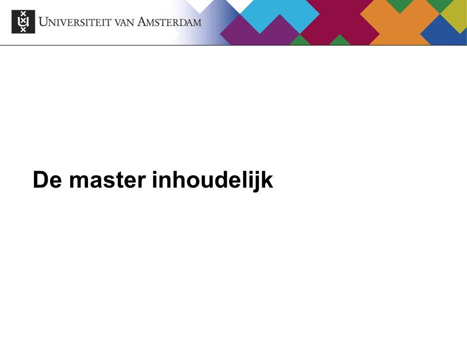 Eenjarige masters Communicatiewetenschap: Media, Journalistiek en Publieke Opinie