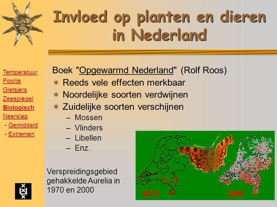 Invloed op planten en dieren in Nederland Boek
