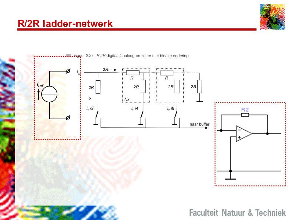 R/2R ladder-netwerk b I ref