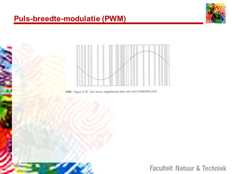 Puls-breedte-modulatie (PWM)