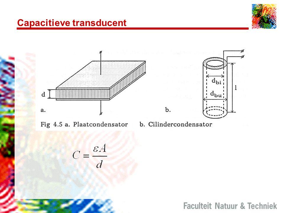 Capacitieve transducent