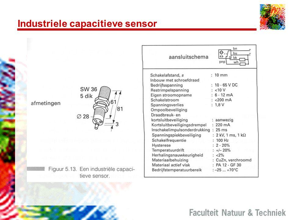 Industriele capacitieve sensor