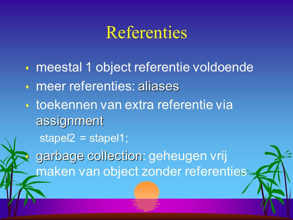 UML notatie voor objecten