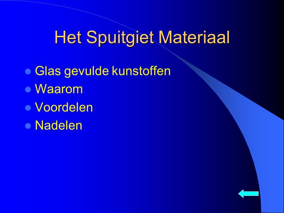 Het Spuitgiet Materiaal Glas gevulde kunstoffen Waarom Voordelen Nadelen