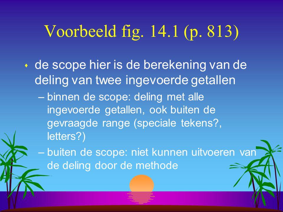 Voorbeeld fig. 14.1 (p.