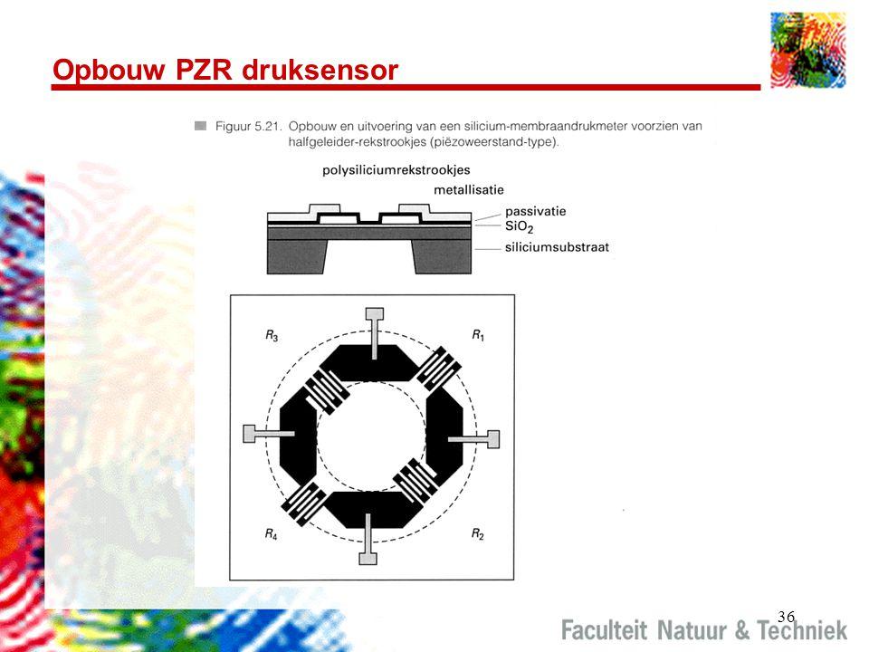 36 Opbouw PZR druksensor