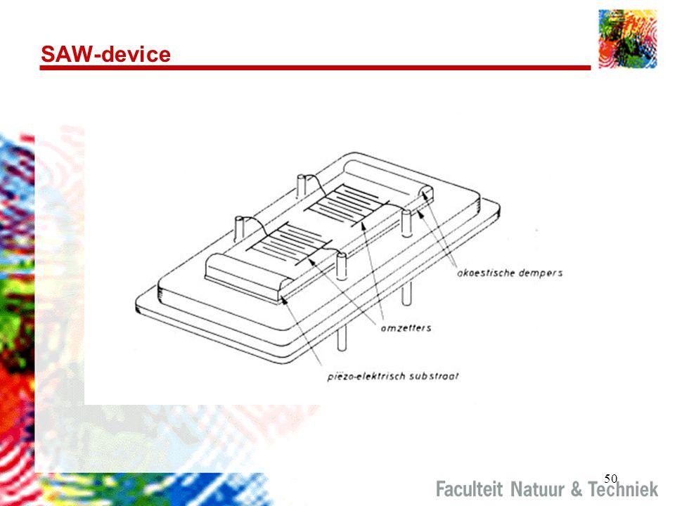 50 SAW-device