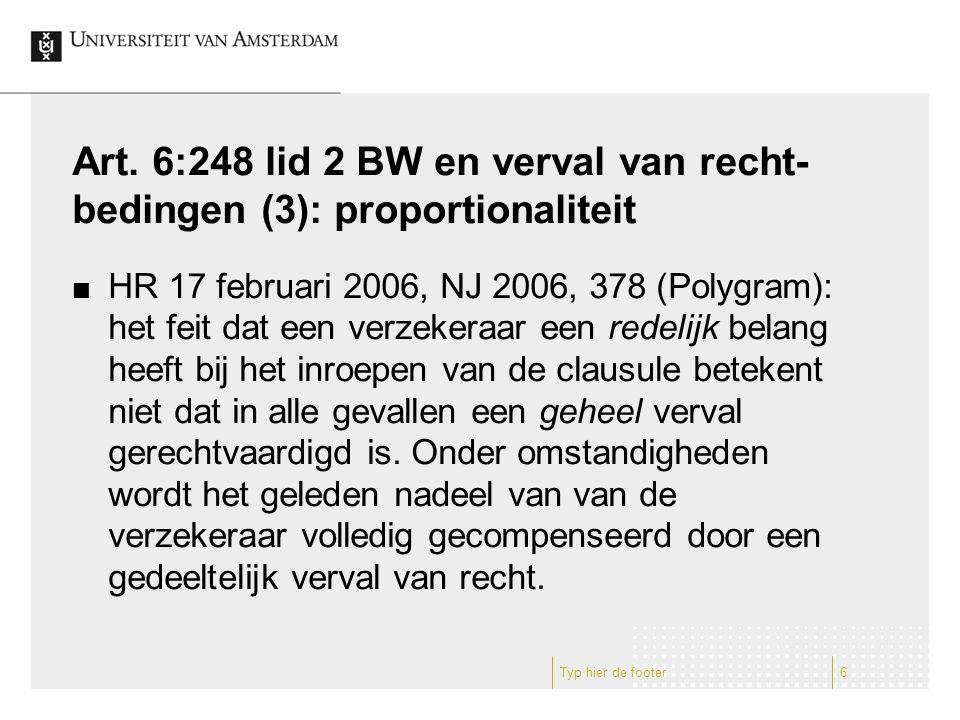 Art.6:248 lid 2 BW en En Bloc-Clausule Art.