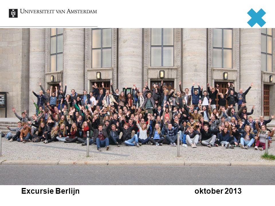 Excursie Berlijn oktober 2013